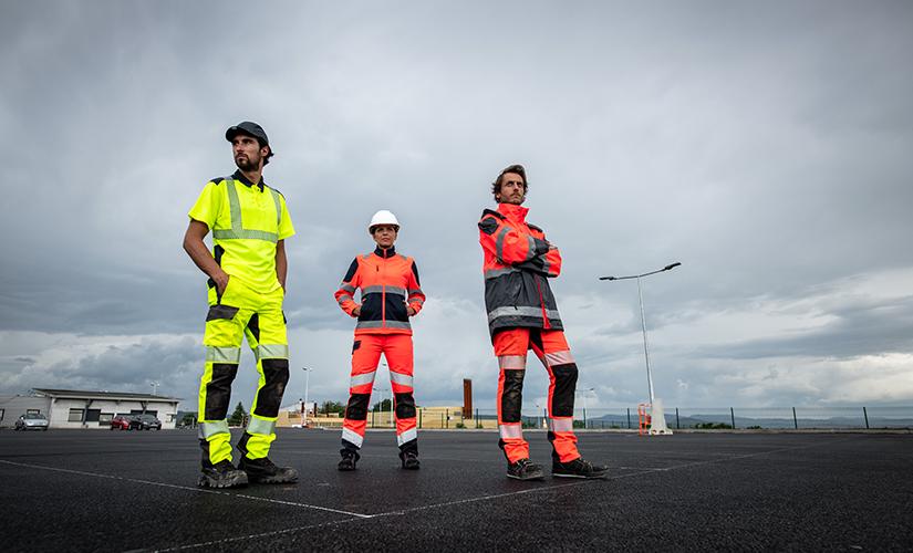 Vêtements Cepovett conçus pour protéger les professionnels